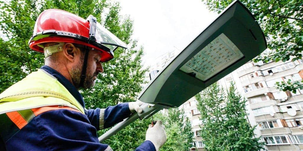 50 тысяч энергоэффективных фонарей будут освещать улицы столицы